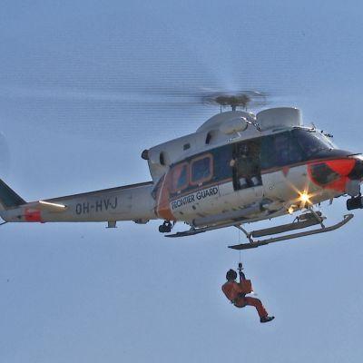 Helikopteri näytöksessä