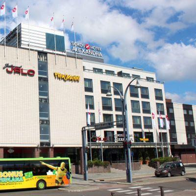 Hotelli Alexandran perusteellinen uudistus alkaa syyskuussa.