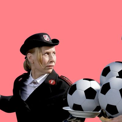 Kuvituskuva oscareiden ja jalkapallon outoon yhteyteen