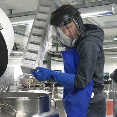 Yle Uutiset Pirkanmaa: Syväjäädytystä Tampereella