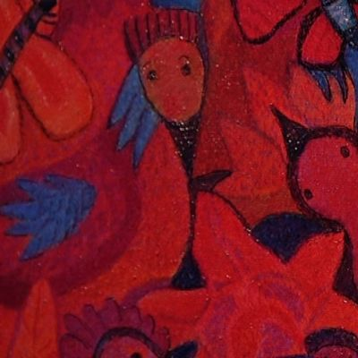 Anna-Liisa Hakkaraisen taidetta.