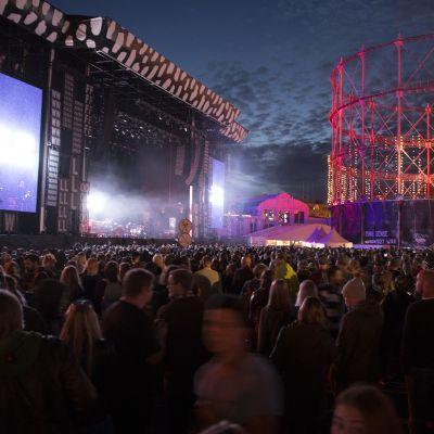 Helsinki Flow Festival.