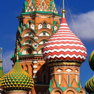 Basilikan sipulit Kremlissä.