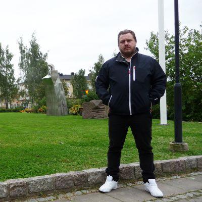 Haaparannan kunnan projektivastaava Stefan Täikkö.