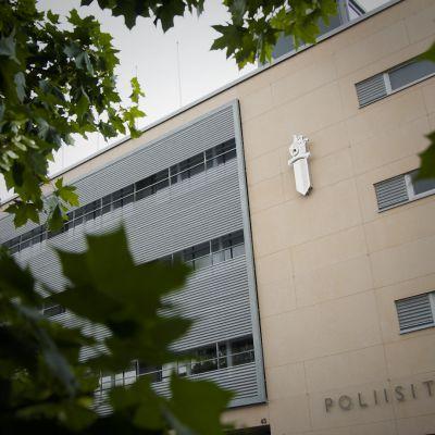 Pohjanmaan poliisilaitos Vaasassa.