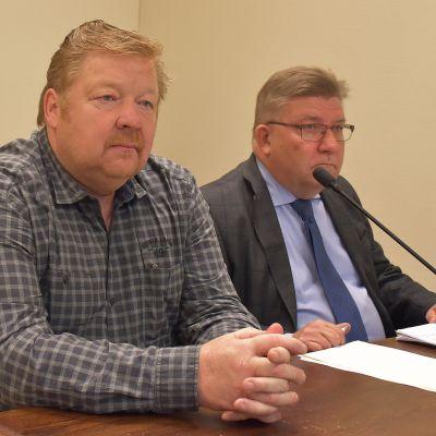 Martti Lundén oikeudessa.