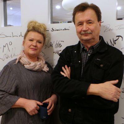 Tarja Närhi ja Jake Nyman