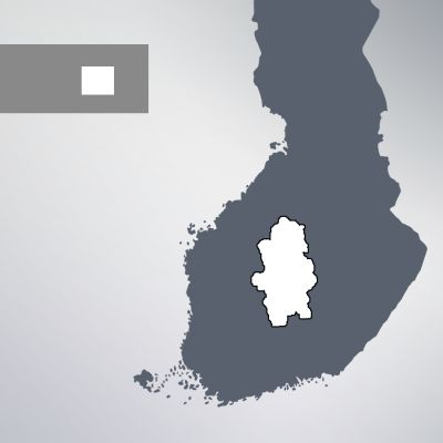 Keski-Suomi kartalla