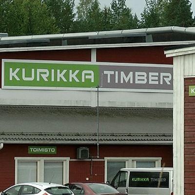 Kurikka Timberin tehdas Suolahdessa.