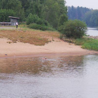 Arantilankoski Nakkilassa, Kokemäenjoessa