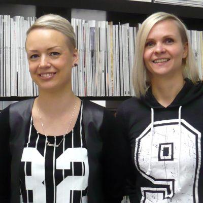 Rento Designin yrittäjät Hanna Väinölä ja Ulla Harju