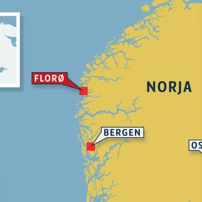 Norjan kartta.