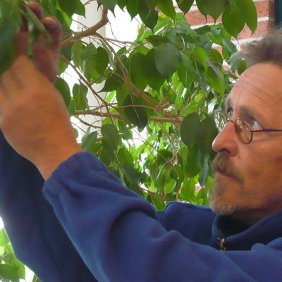 puutarhuri Timo Koskinen