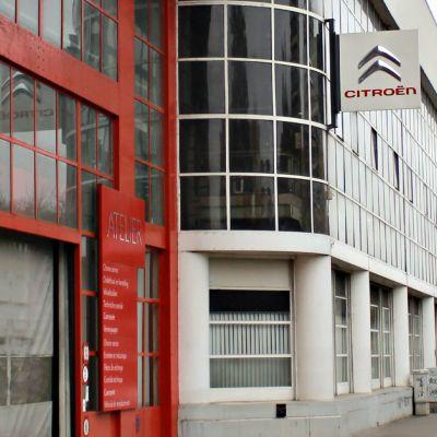 Bryssel toteuttaa yhdessä Pompidou-keskuksen kanssa Citroën-rakennukseen uuden museon.