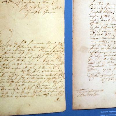 Kirje vuodelta 1723