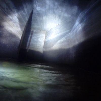 Tunnelin välppäyslaitoksen pää.