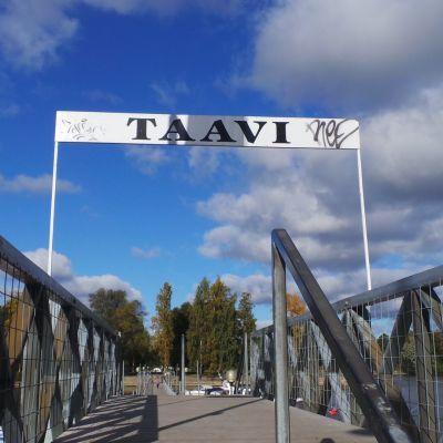 Taavi-silta Kokemäenjoki Pori