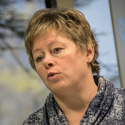 Kuvassa kaupunginjohtaja Stina Mattila