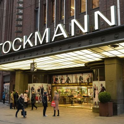 Stockmann-tavaratalon sisäänkäynti.