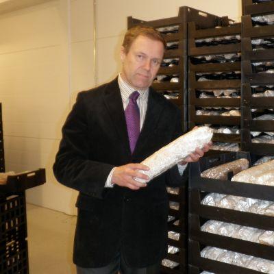 Polar Shiitaken toimitusjohtaja Markku Leppänen.