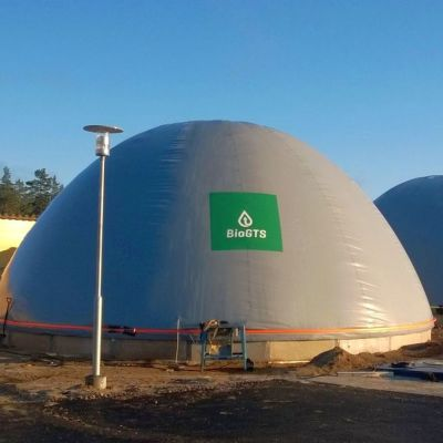 BioGTS rakensi Haminan Energialle alkuvuodesta käynnistyneen Vironlahden biokaasulaitoksen.