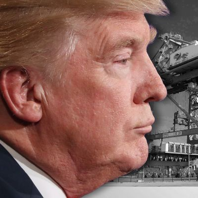 Donald Trump ja satama