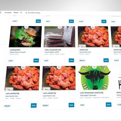 ruokaasuomesta.fi verkkosivusto tuottajien verkkokauppa MTK