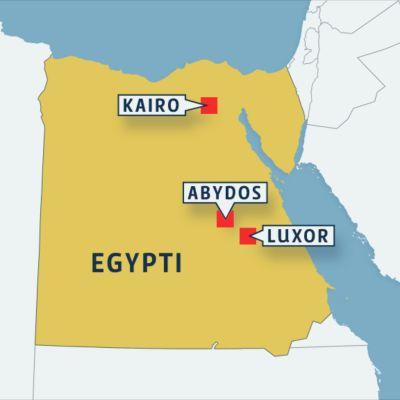 Egyptin kartta.