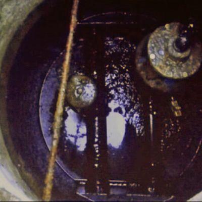 Vesi- ja viemäriverkon ilmanpoistoputkien kaivo Äänekoskella.