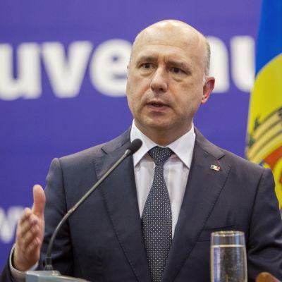 Moldovan pääministeri Pavel Filip.