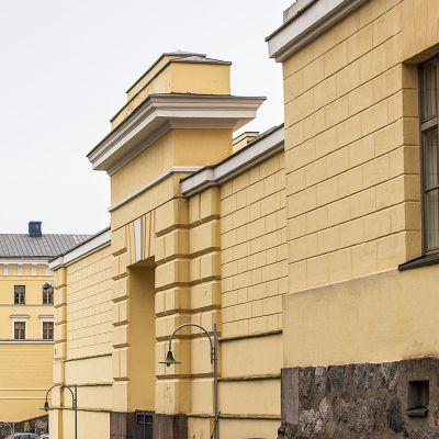Ulkoministeriön rakennus.