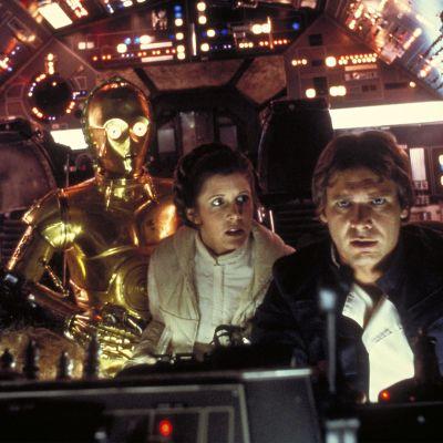 Kuva elokuvasta The Empire Strikes Back.