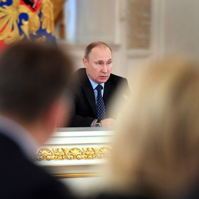 Vladimir Putin .