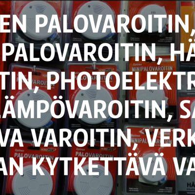 Yle Uutiset Kaakkois-Suomi: Minkälainen palovaroitin kattoon?