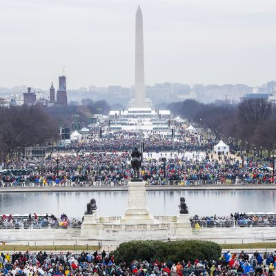 Donald Trumpin virkaanastujaiset Washingtonissa.