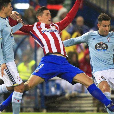 La Liga: Maalikooste: Atletico Madrid voittoon Torresin ja Carrascon huippumaaleilla