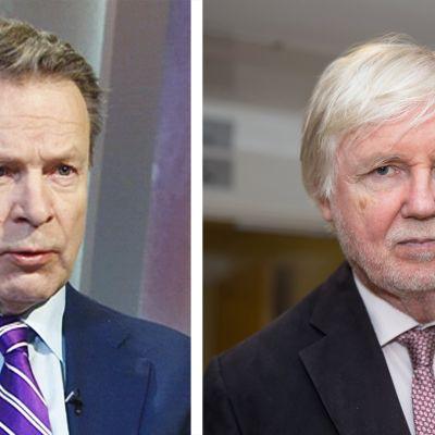 Ilkka Kanerva ja Erkki Tuomioja