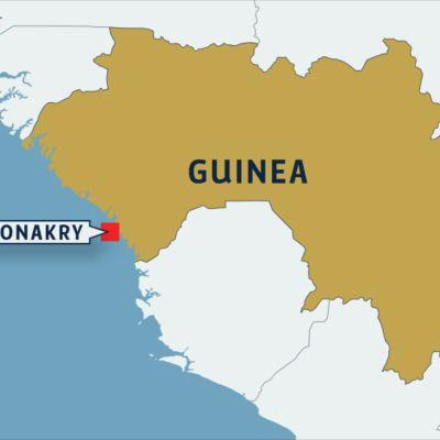 Guinean kartta.