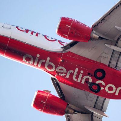 Air Berlinin lentokone.
