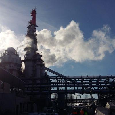 Metsä Groupin Äänekosken tehdasalueelle nousee Suomen suurin biotuotetehdas.