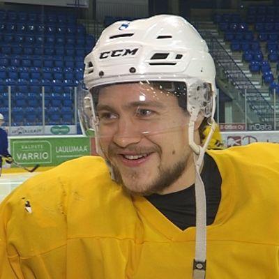 Rovaniemen kiekon kapteeni Henri Joki-Erkkilä