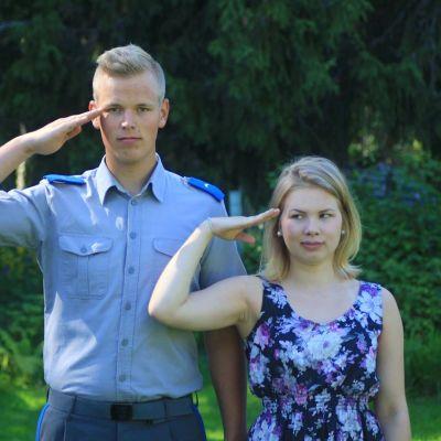 Aapo Wikstén ja Ella Haataja