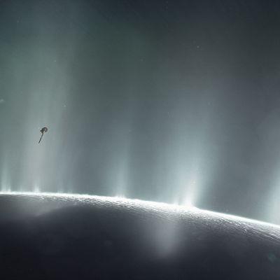 Enceladus Saturnus kuu