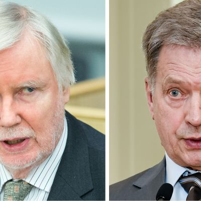 Erkki Tuomioja ja Sauli Niinistö.