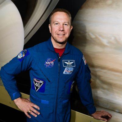 Ylen aamu-tv: Astronautti Timothy Kopra ja avaruuden lumo