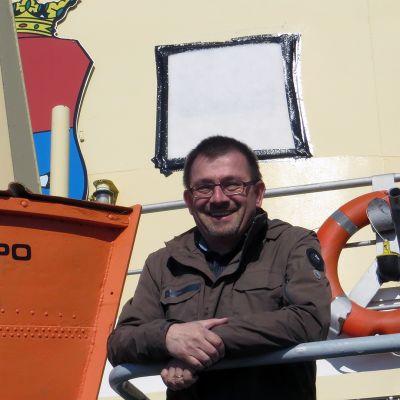 Oskar van Ieperen matkailujäänmurtaja Sampolla