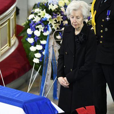 Presidentti Mauno Koiviston hautajaiset