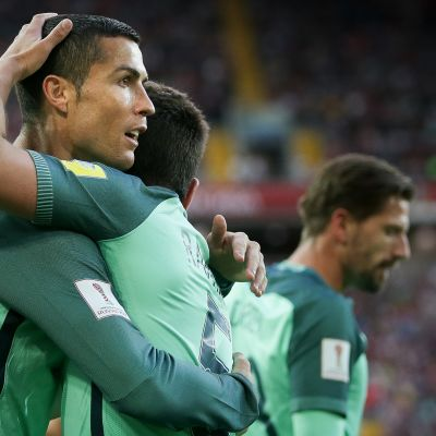 Jalkapallon FIFA Confederations Cup 2017: Portugali voitti Venäjän Confederations Cupissa