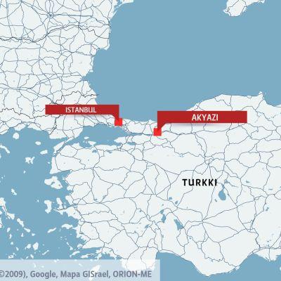 Kartta Turkista