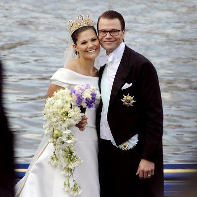 Kruununprinsessa Victorian ja Prinssi Danielin häitä vietettiin vuonna 2010.
